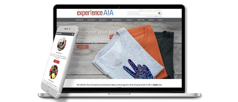 Experience AIA website on laptop screen and mobile phone