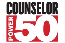Counselor Power 50 Logo